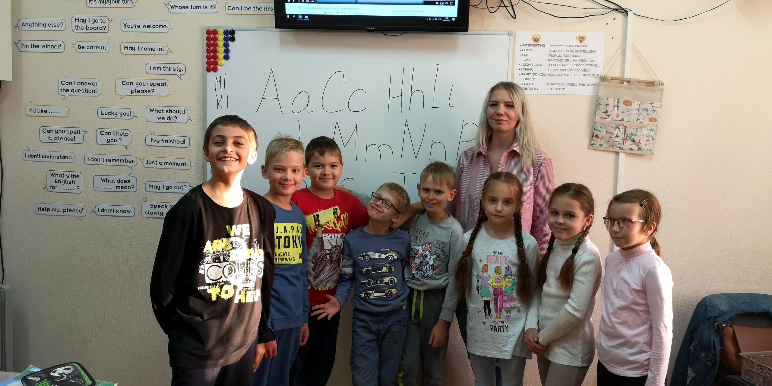 «Учимся читать по-английски» для ребят 1-3 класса